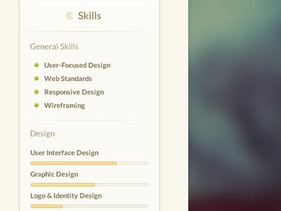 Resume resume skills