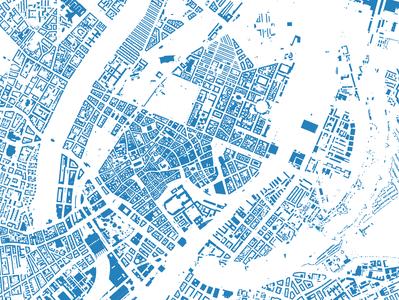 Copenhagen buildings - Illustrator