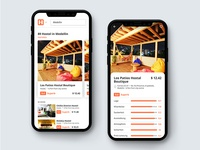 Hostelworld App Redesign ✈️