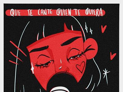 Silvana Estrada love tear sing song mexico illustration silvana estrada silvana estrada