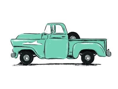 Chevy Apache illustration