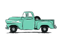 Chevy Apache illustration
