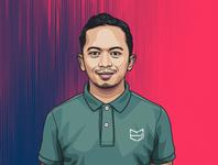 Hafiz Ismail Portrait Illustration