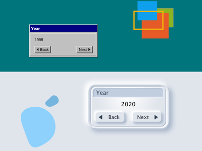 Not Much Has Canged hard soft button style design neumorphism ui