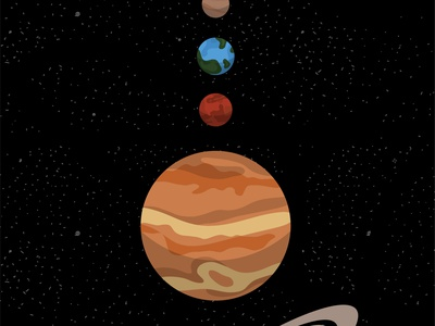 Interactive Space art illustrator website web vector minimal illustration icon design flat