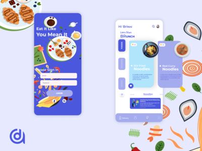 Food and Grocery delivering app