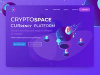 Cryptospace Currency Platform