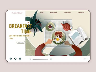Restaurant Landing Page business branding startup web design ux design ux user experience ui design ui product design mobile minimal restaurant cook interface interaction design food figma appdesign app