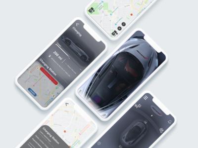 Mc laren 720s concept autopilot app
