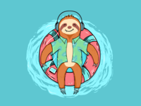 Sloth Vacation