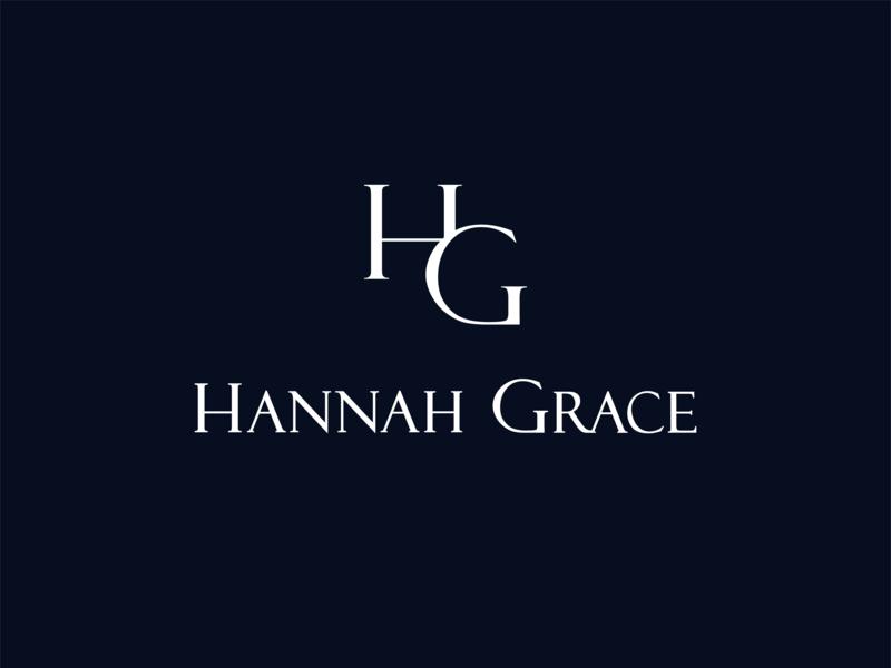 Hannah Grace Logo musician artist logotype logo identity branding