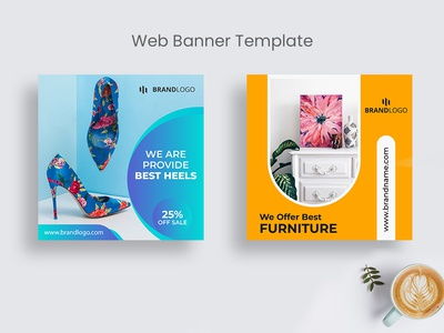 Social Media Post Banner | Web Banner Template