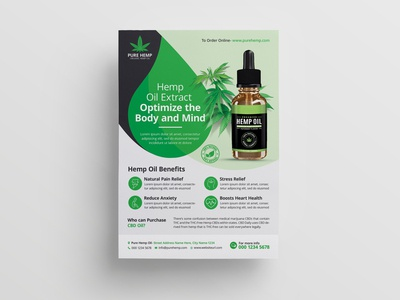 Hemp Product Flyer