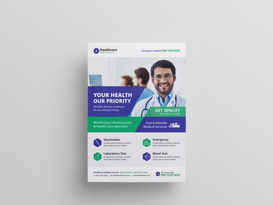 Medical Healthcare Flyer Template