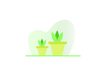 illustration-Learning illustration art flower pot beginner learning illustrations illustrator