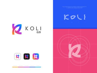 Koli Startup from Singapore - Logo Design