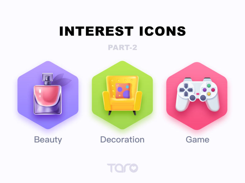 Interest Icons 2
