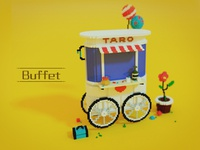 Isometric Voxel Buffet