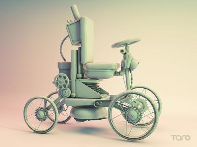 Steampunk Car