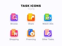 Task Icons By Taro