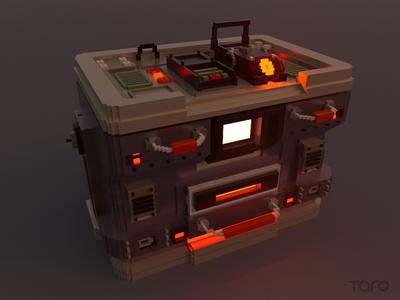 Voxel machine