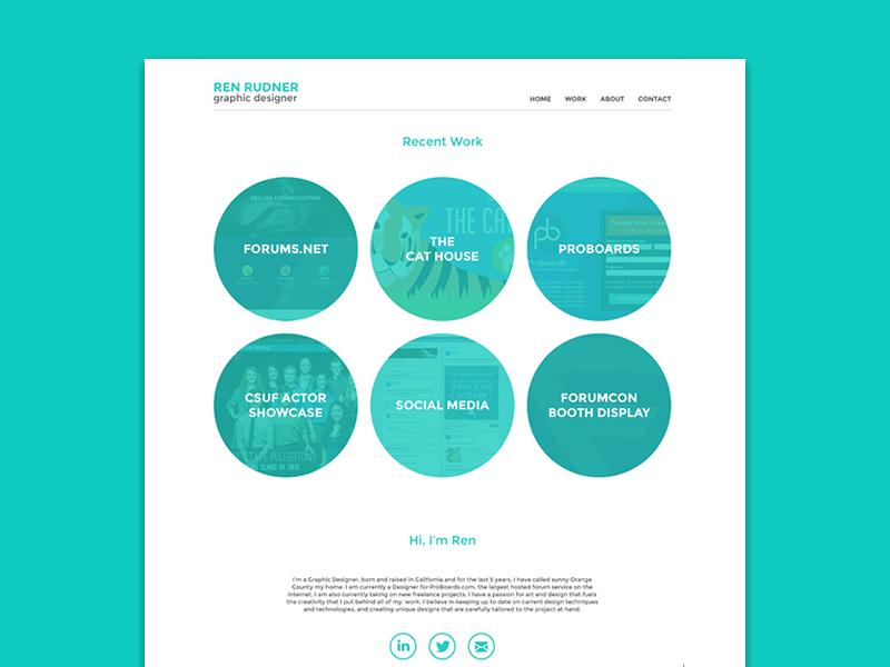 New Portfolio Site portfolio web first design minimal flat
