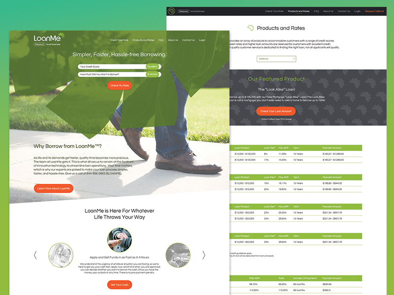 Out with the old ux web page web design redesign