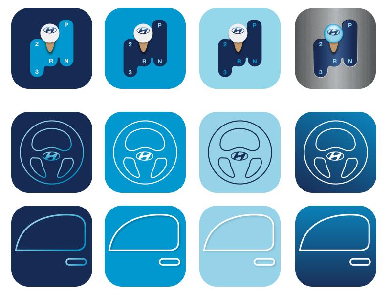 Icon Exploration exploration mobile illustration app icon app icon ios