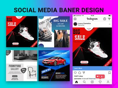 social media banner design social media social media design instagram post instagram banner facebook banner facebook ads facebook ad facebook design branding banner ad banner
