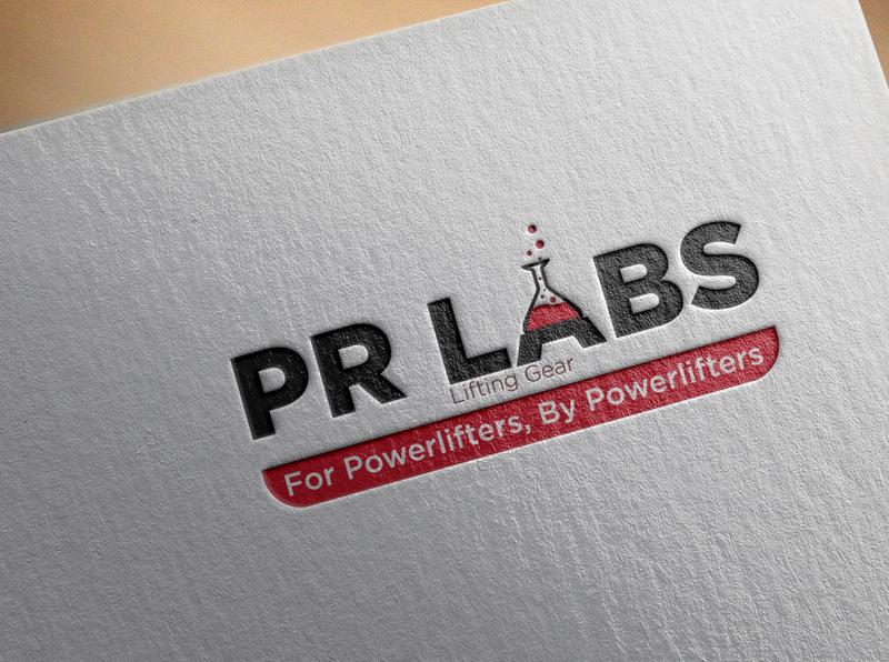 PR Labs Logo graphic design lab branding logo design logo