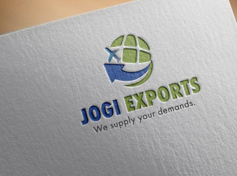 Jogi Export Logo graphic design branding exportlogo export brand design logodesign logo