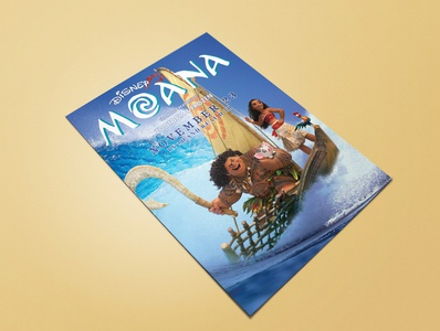 MOANA MOVIE POSTER poster design movieflyer flyer movieposter poster