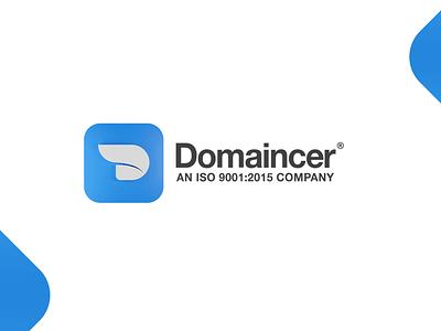 Domaincer Digital Agency Branding illustration logo design design agency logo mobile app company logo digital agency 3d logo branding 3d logo domaincer