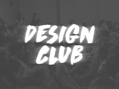 Something new coming soon! club event blur brush logo