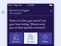 Realist mobile app