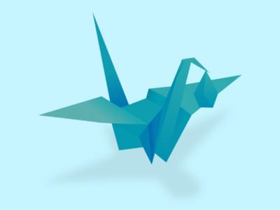 Origami Stork origami stork