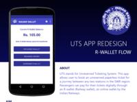 Uts App R Wallet Flow Redesign