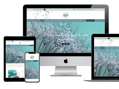 Webdesign & branding web design art therapy hypnotherapist healthcare ui design logo graphic  design freelance design sophisticated elegant sur clean website design webdesign brand identity