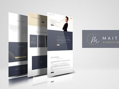 Identité visuelle & création site web design branding webdesign logo brand identity website design freelance design graphic  design stylish minimalist site web site