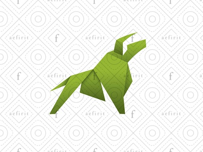 Rising Bull Logo animal for sale branding geometric fighting money currency strong growth appreciation rise logo real estate market craft paper realty trading rising bull
