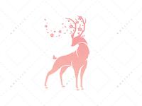 Pink Spring Spirit Logo