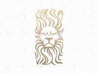 Brave Lion - Alternative Version of Flaming Lion Logo
