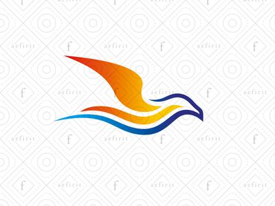 Sunset Seagull Logo
