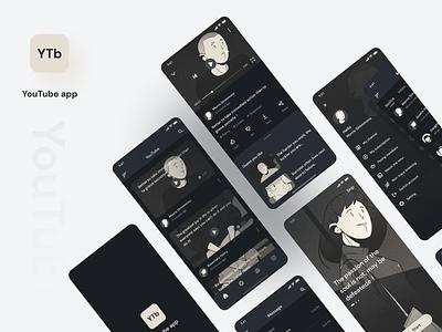 Short video app video youtube short video dark dark app mobile ui mobile icon app ux ui design