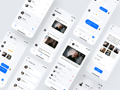 Chat app-redesign chat bot chatting chatbot chat app chat animation typography icon vector logo design branding app ux ui