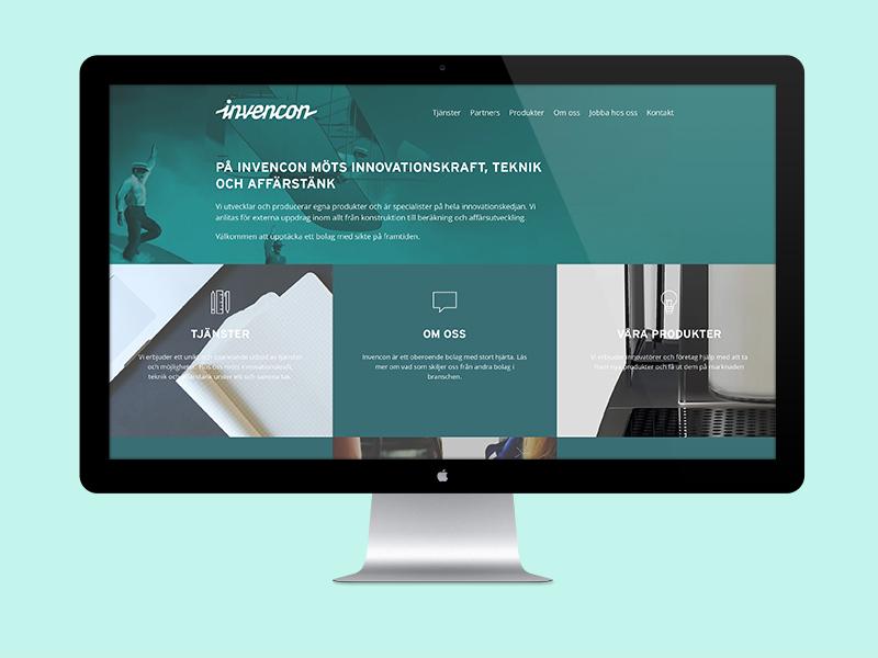 Client work website