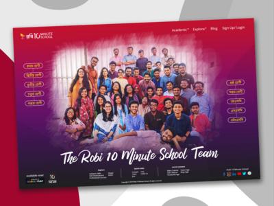 The Robi 10MS Team Fun UI Concept