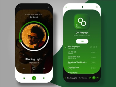 Spotify Mobile UI Redesign