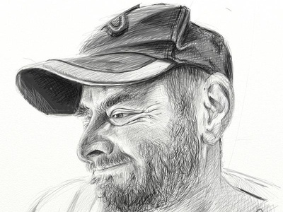 "self portrait, artrage Pro, wacom Cintiq 24"" HD"