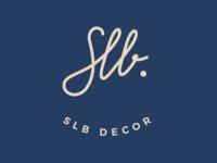Monogram for decoration company